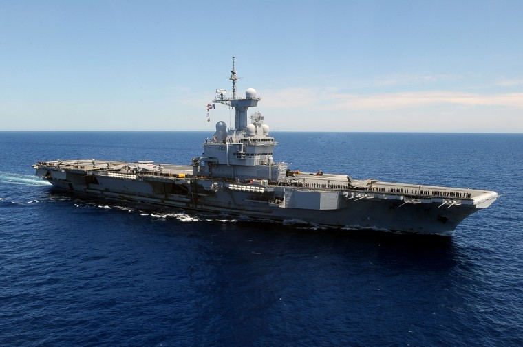 French aircraft carrier Charles de Gaulle (R91) Wallpapers