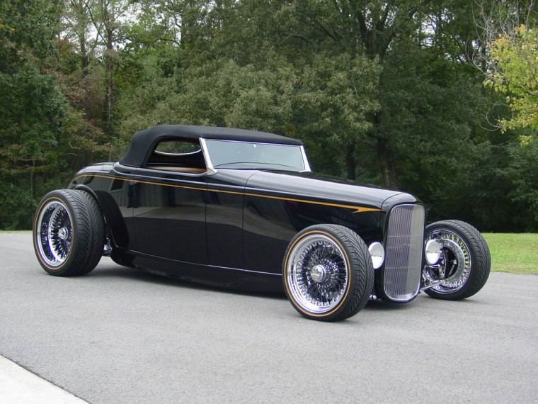 Ford Deuce Roadster Wallpapers