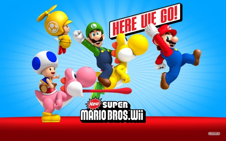 New Super Mario Bros. Wii HD Wallpapers