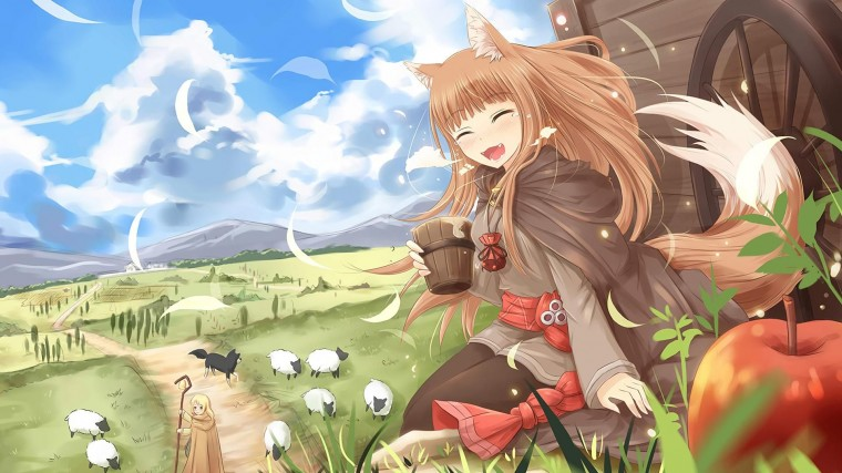 Spice and Wolf Wallpapers