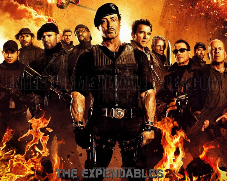 The Expendables 2 Wallpapers