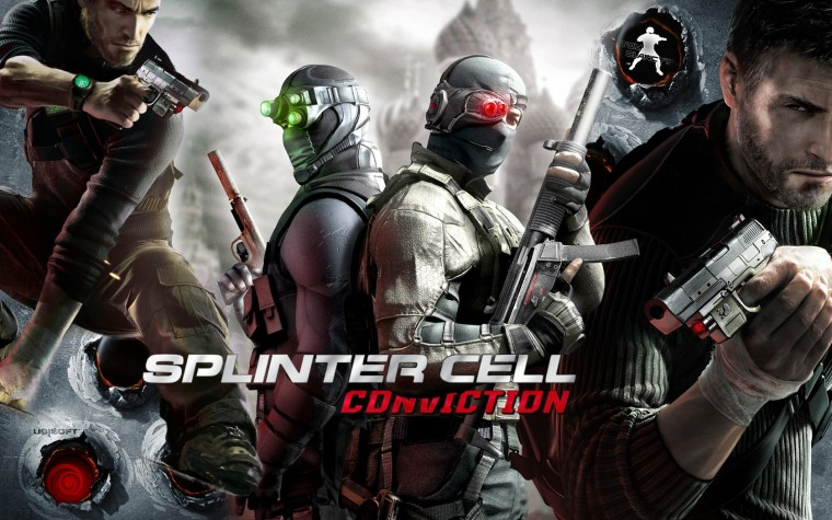 Tom Clancy's Splinter Cell: Conviction HD Wallpapers