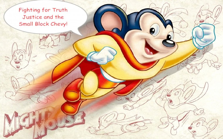 Mighty Mouse Wallpapers