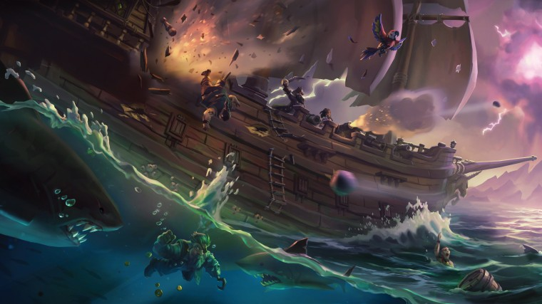 Sea Of Thieves HD Wallpapers