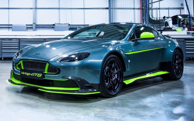Aston Martin Vantage GT8 Wallpapers