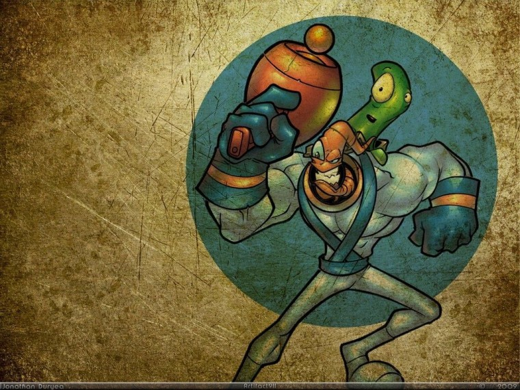 Earthworm Jim HD Wallpapers