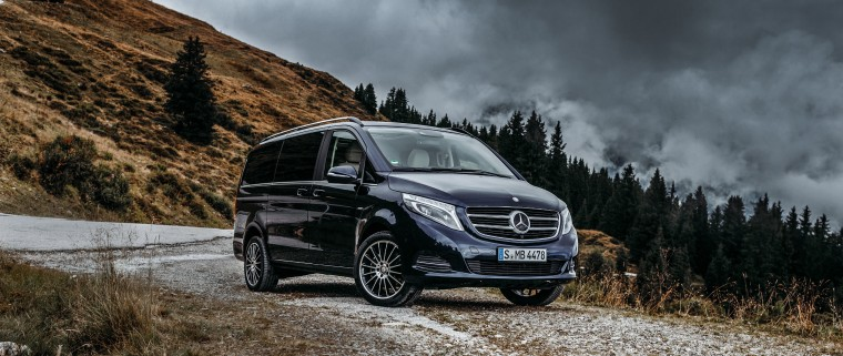 Mercedes-Benz V-Class Wallpapers