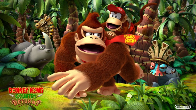 Donkey Kong Country Returns HD Wallpapers