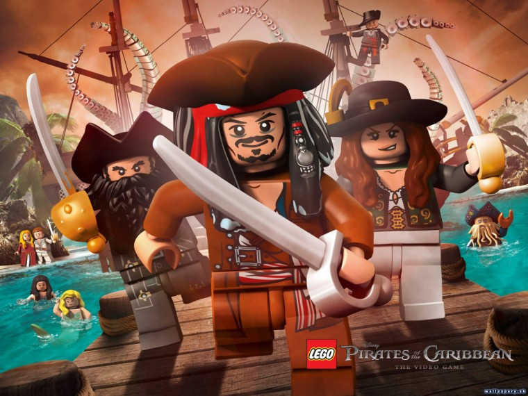 LEGO Pirates of the Caribbean: The Video Game HD Wallpapers