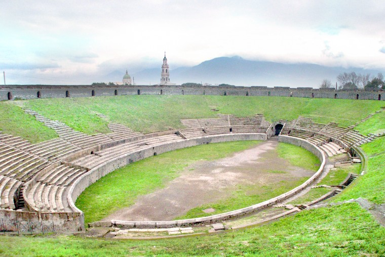 Amphitheatre Of Pompeii Wallpapers