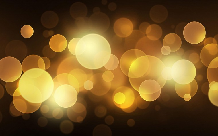 Gold Lights Wallpapers