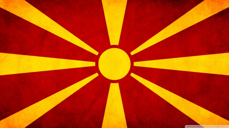 Flag Of Macedonia Wallpapers