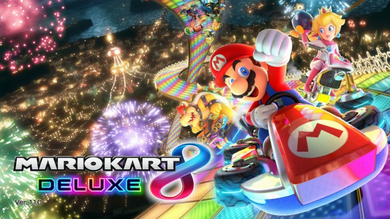 Mario Kart 8 Deluxe HD Wallpapers