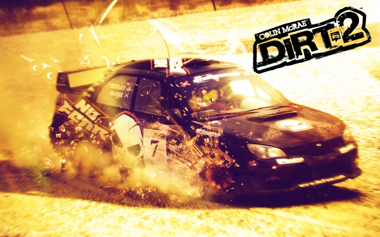 Colin McRae: Dirt 2 HD Wallpapers