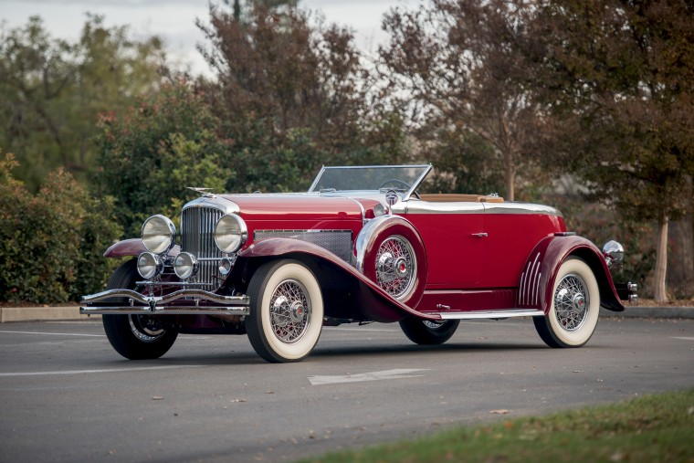 Duesenberg Model J Disappearing Top Wallpapers