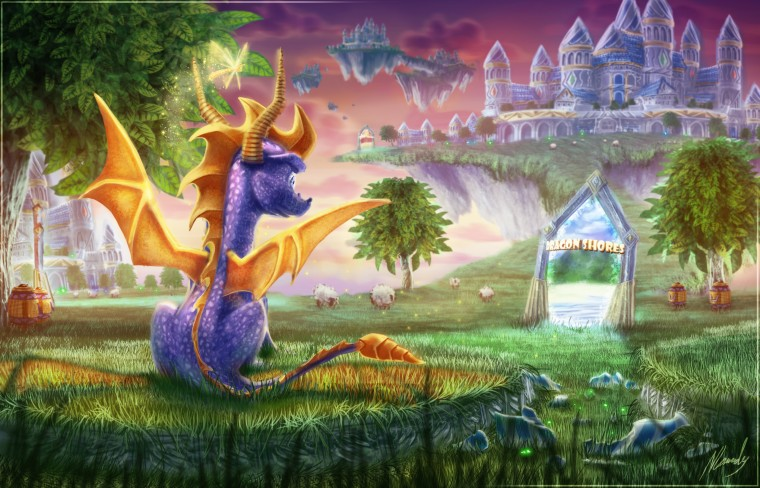 Spyro the Dragon HD Wallpapers