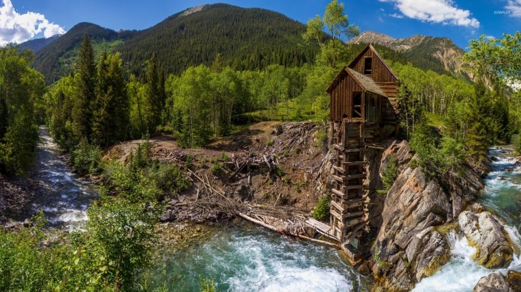 Crystal Mill Wallpapers