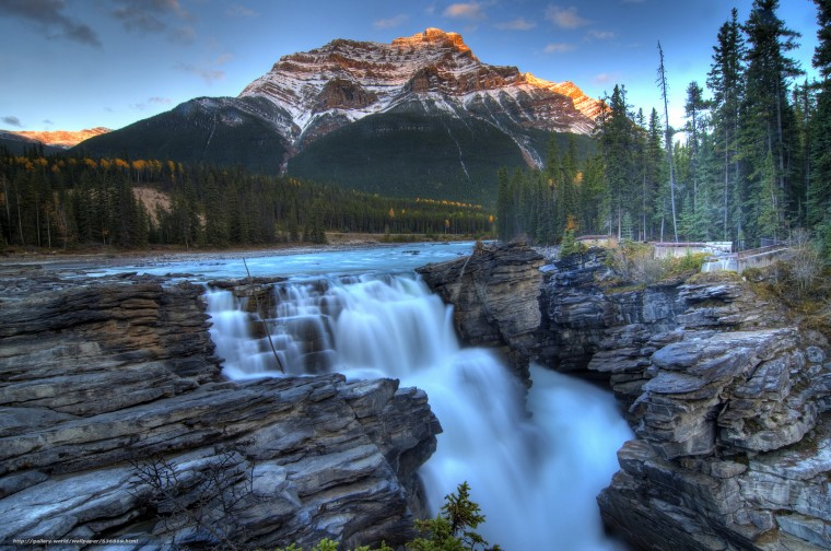 Athabasca Falls Wallpapers