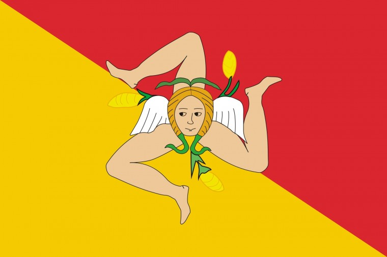 Flag of Sicily Wallpapers