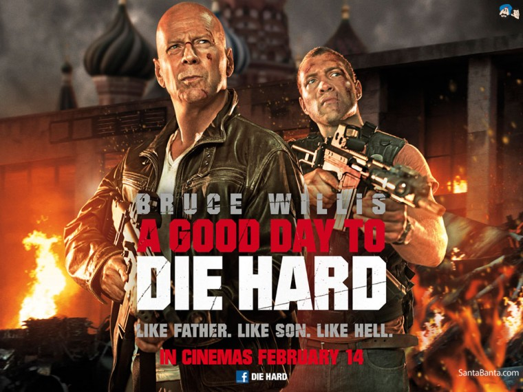 A Good Day to Die Hard Wallpapers
