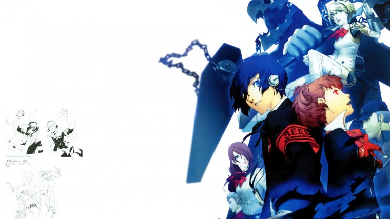 Persona 3 Portable HD Wallpapers