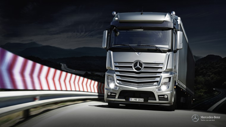 mercedes-Benz actros Wallpapers