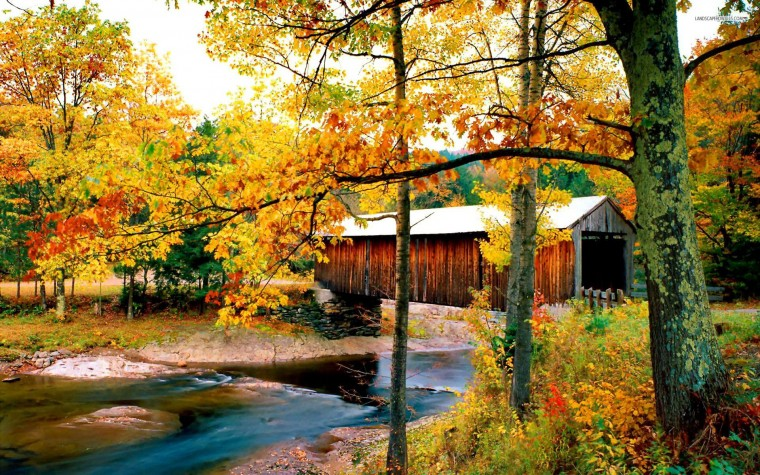 Covered Bridge Wallpapers