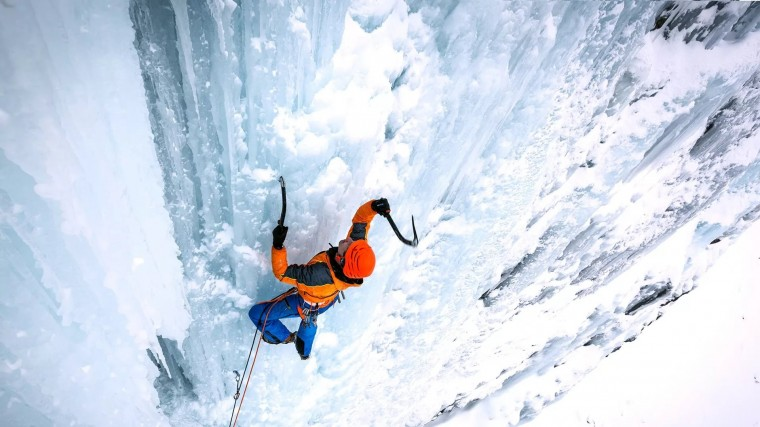Ice Climbing Wallpapers