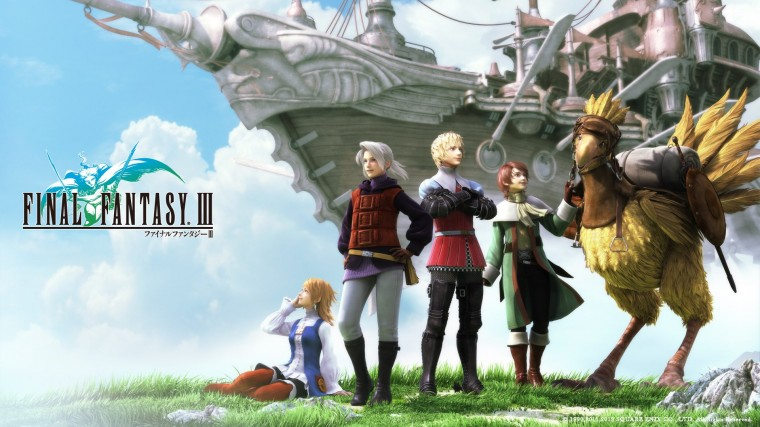 Final Fantasy III HD Wallpapers