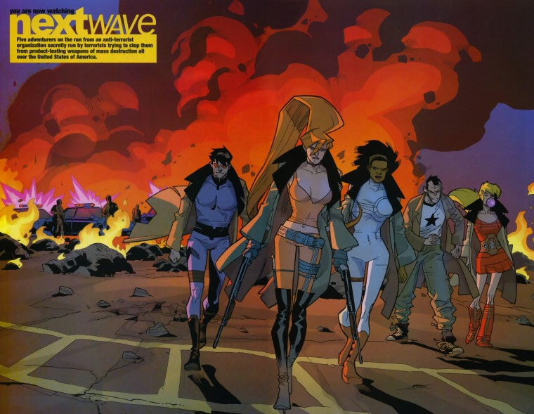 Nextwave Wallpapers