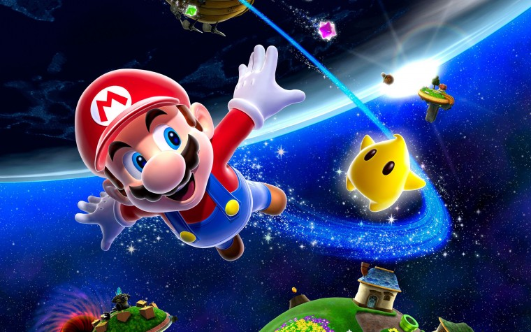 Super Mario Galaxy HD Wallpapers