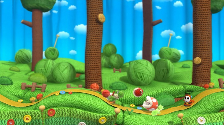 Yoshi's Woolly World HD Wallpapers