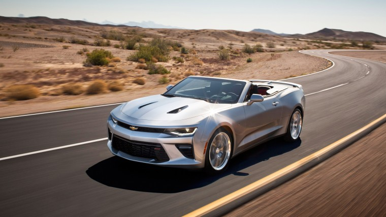 Chevrolet Camaro Convertible Wallpapers
