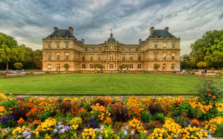 Luxembourg Palace Wallpapers
