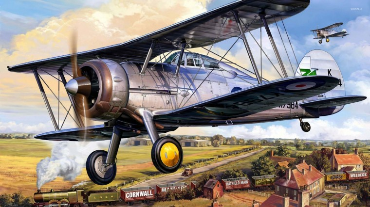 Gloster Gladiator Wallpapers
