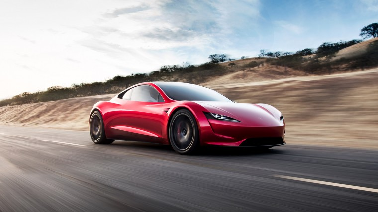 Tesla Roadster Wallpapers