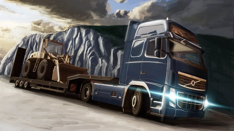Euro Truck Simulator 2 HD Wallpapers