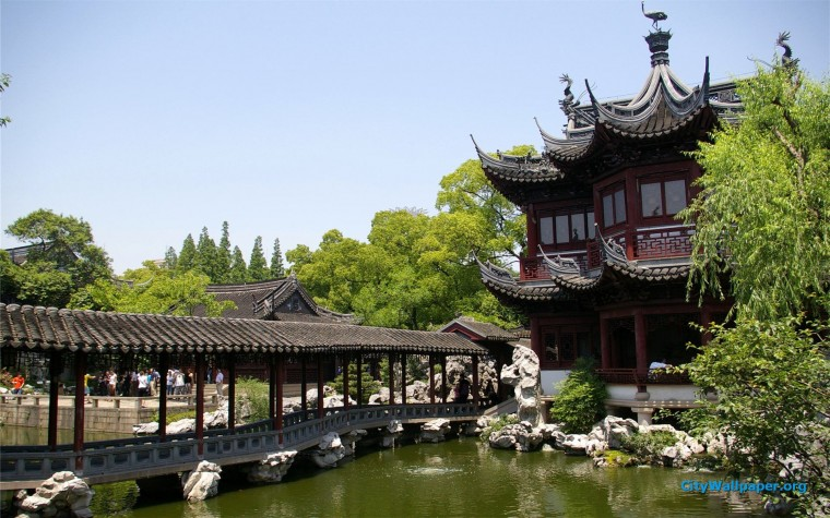 Yuyuan Garden Wallpapers
