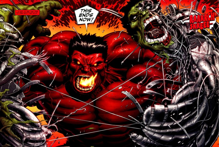 Red Hulk Wallpapers