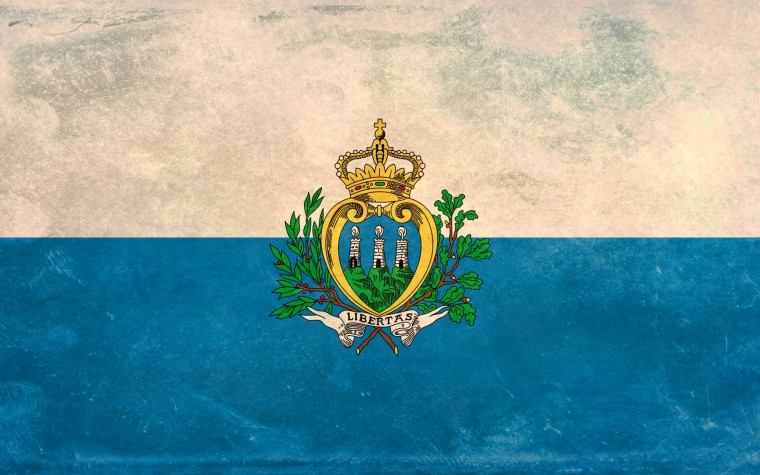 flag of San Marino Wallpapers