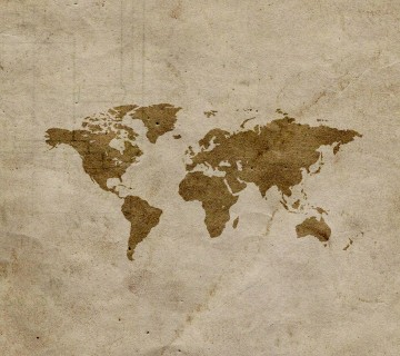 World Map Screensaver